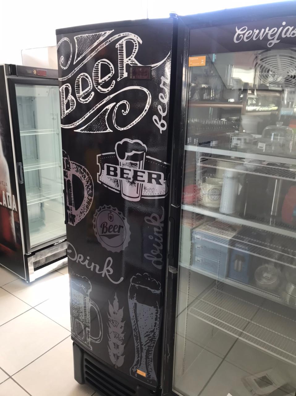 Visa cooler Cervejeira 400l Porta Cega - Refrimate