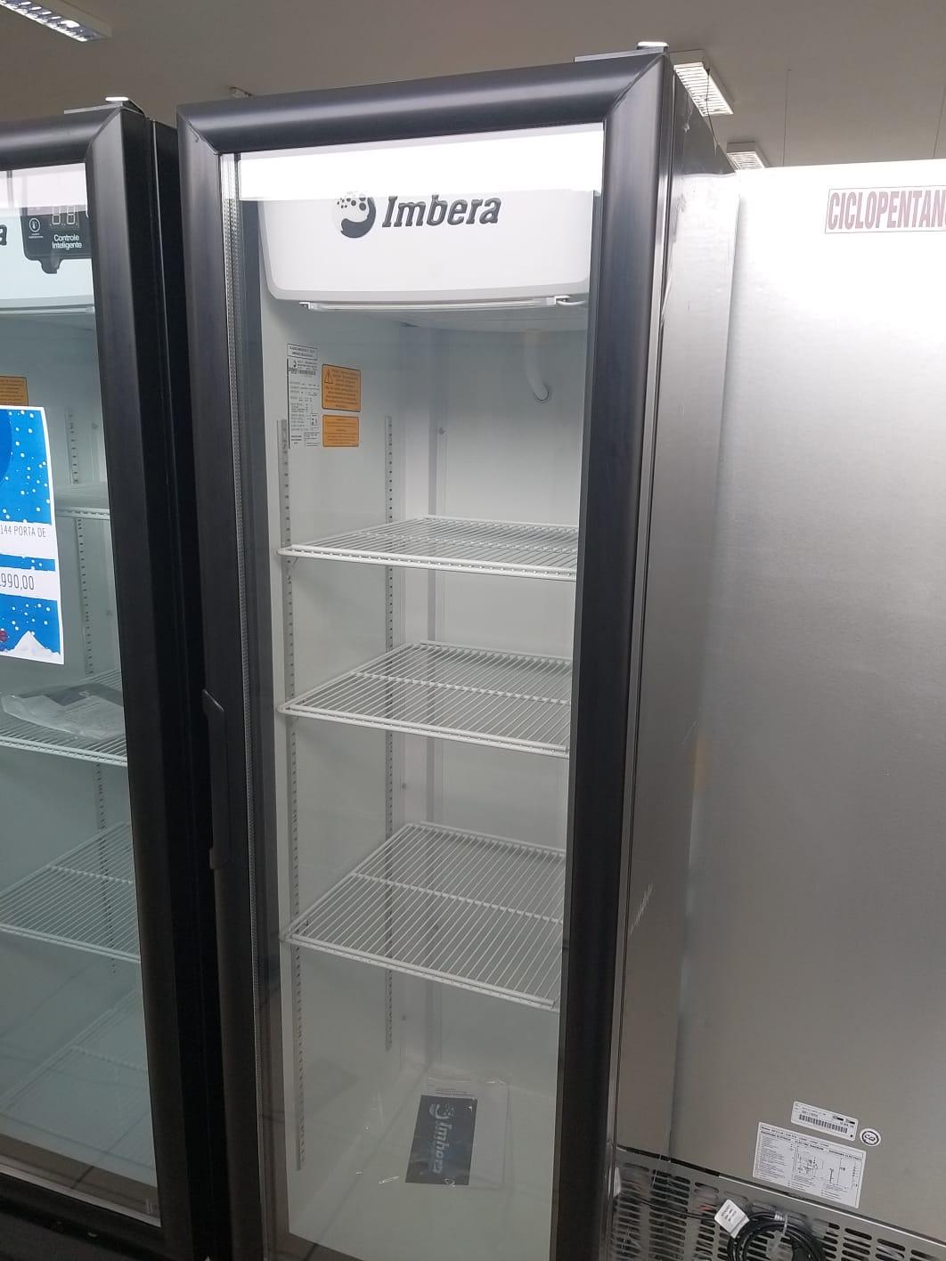 Geladeira Expositora Visa Cooler Multiuso 230L VR08 - Imbera