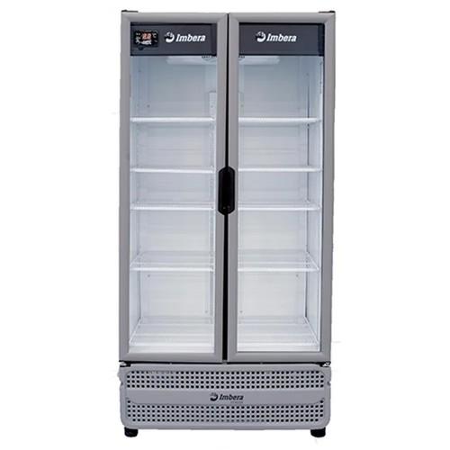 Geladeira Expositora Visa cooler multiuso 754L porta dupla cinza Stylus - Imbera
