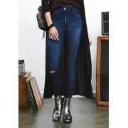 Calça Skinny Jeans Dark