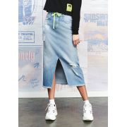 Saia Midi Denim