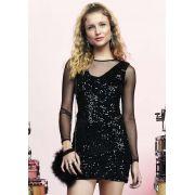 Vestido Paete Glam