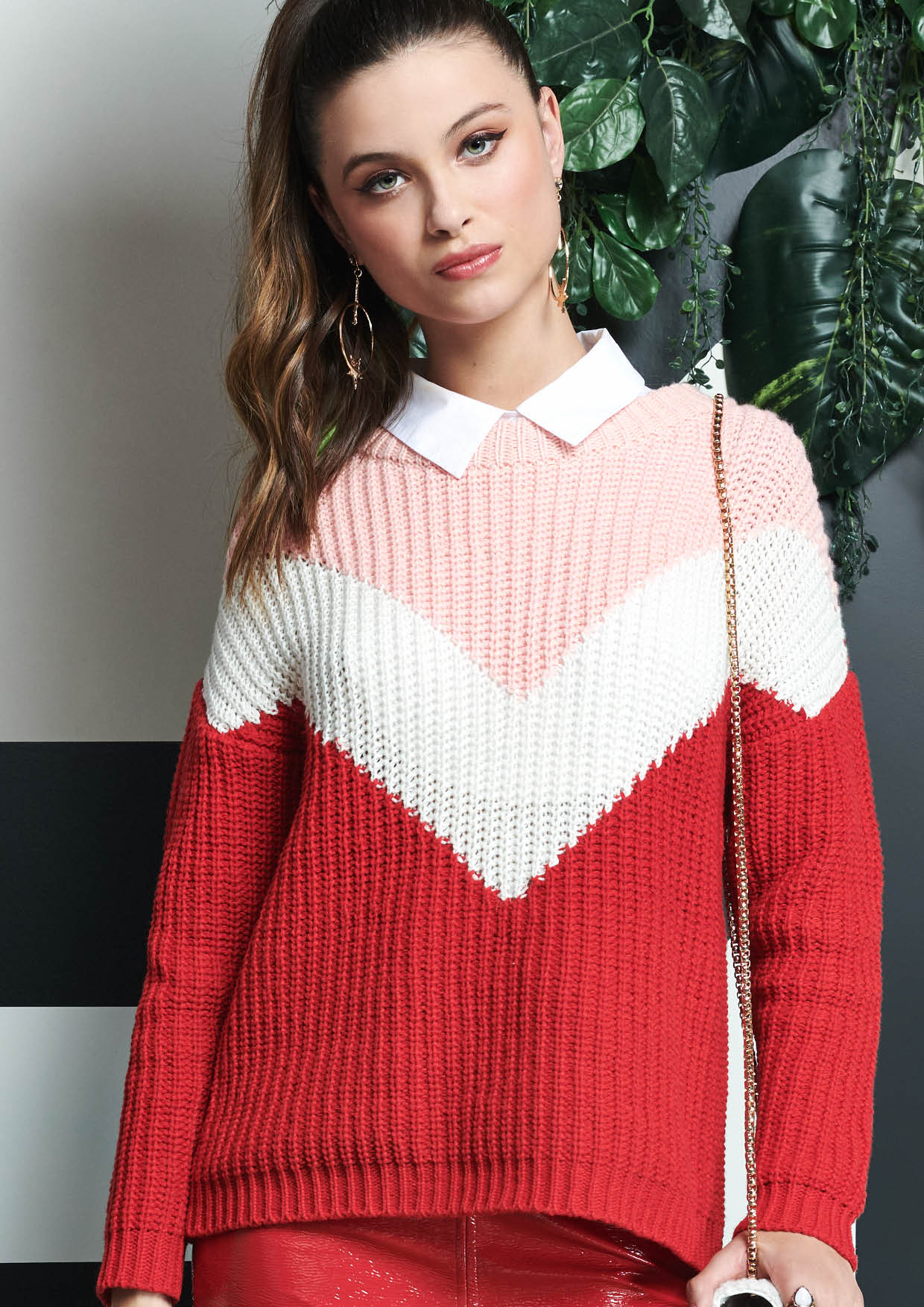 Tricot Red | Pink