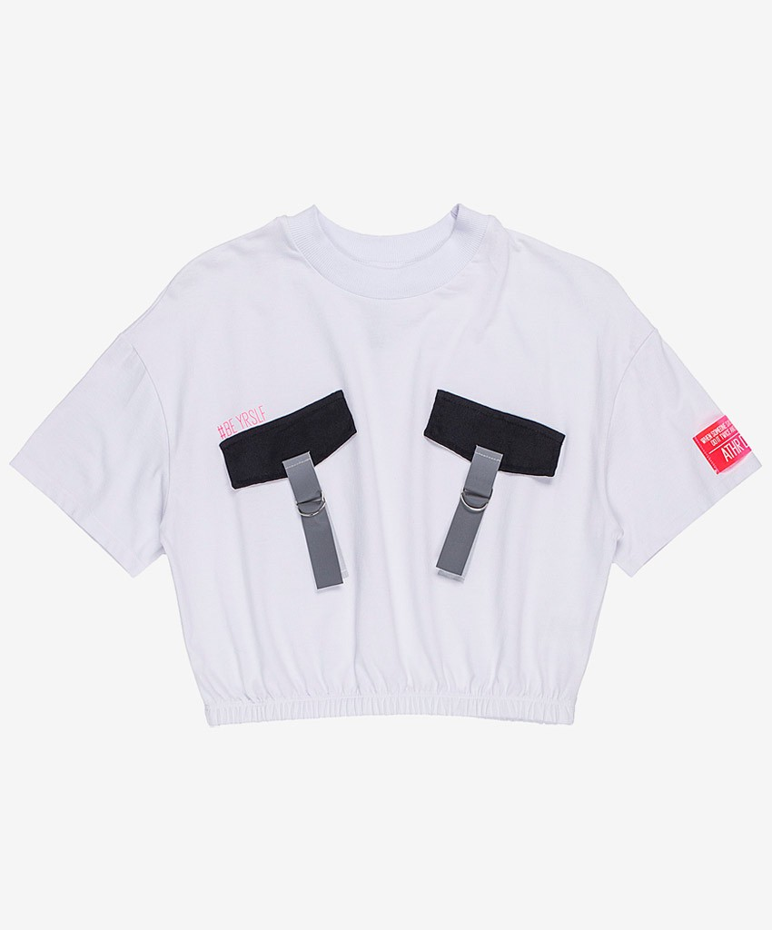 T-SHIRT CROPPED BE YOUR SELF