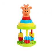 Brinquedo didático Baby Roll Tower