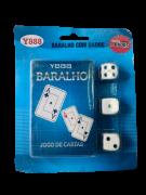 BARALHO COM TRÊS DADOS