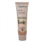 Base líquida Natural Look Ruby Rose - chocolate 9