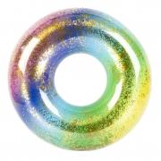 Boia colorida com glitter 80 cm