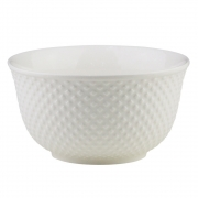 Bowl de porcelana New Bone Dots Lyor 12,5 cm
