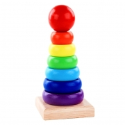 Brinquedo educativo Rainbow Tower