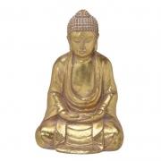 Escultura Buda em Lótus 32 cm