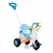 Triciclo Calesita Fantasy azul