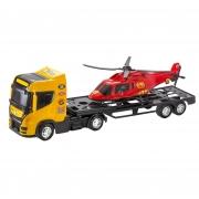 Caminhão porta helicóptero Top Truck Helicopter