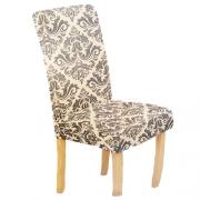Capa de cadeira estampada tamanho ajustável