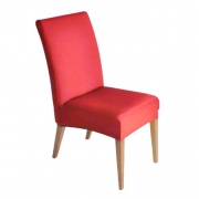 Capa de cadeira lisa tamanho ajustável