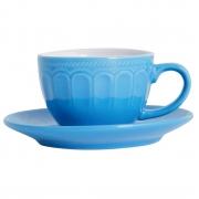 Conjunto 6 xícaras de cerâmica para café Mary 220 ml