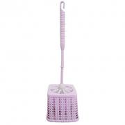 Escova sanitária com suporte em plástico