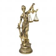Escultura Dama da Justiça 20 cm
