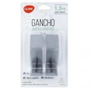 GANCHOS ADESIVOS EM INOX 2 PEÇAS