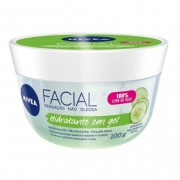 Hidratante facial em gel com ácido hialurônico e pepino Nivea
