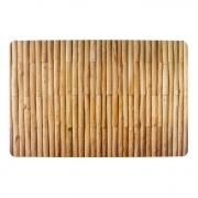 Jogo americano de plástico com estampa de bambu