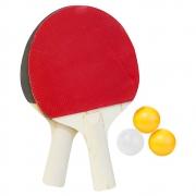 Kit tênis de mesa e ping pong com raquetes e bolas