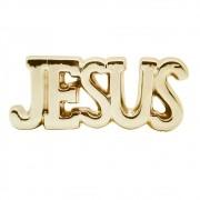 LETREIRO JESUS EM CERÂMICA