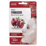 MÁSCARA FACIAL DE ALGODÃO KISS NY ROMÃ FIRMADOR