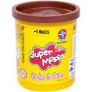 MASSA DE MODELAR SUPER MASSA  POTE ÚNICO SORTIDO