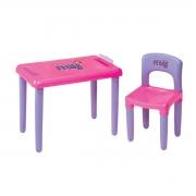 Mesa infantil Meg com cadeira
