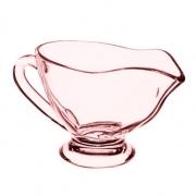 Molheira de vidro rose
