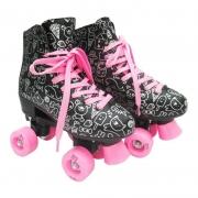 Patins Roller Estilo New tamanho 36 preto