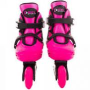 PATINS RADICAL IN-LINE TAM G 37-40 ROSA