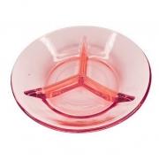 Petisqueira em vidro rose Corallo 14,5 cm
