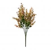Planta artificial folhagem verde outono 35 cm