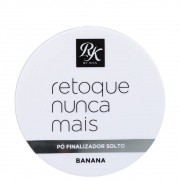Pó finalizador solto Retoque Nunca Mais RK by Kiss - Banana