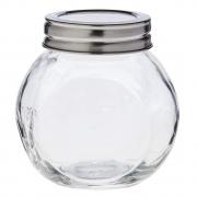 Porta mantimentos em vidro com tampa de metal 200 ml Lyor