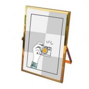 Porta retrato dourado 13x18