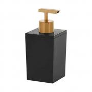 Porta sabonete líquido Quadratta preto