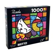 QUEBRA-CABEÇA ROMERO BRITTO CAT 1000 PEÇAS