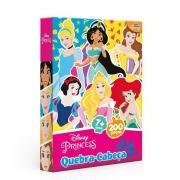 Quebra-cabeça Princesas da Disney 200 peças