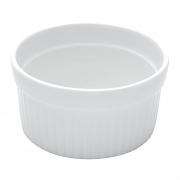 Ramequim Classic em porcelana branca Lyor