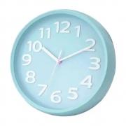 Relógio de parede colorido 25 cm