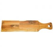 Tábua em madeira para pão baguete