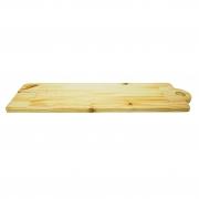 Tábua migalheira em madeira pinus 47,5 cm