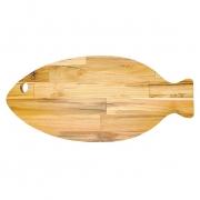 Tábua petisqueira em madeira Peixe Grande