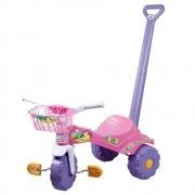 Triciclo Tico Tico Sereia com cesta