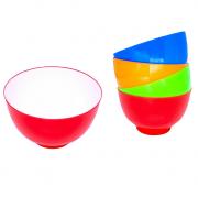 Tigelas coloridas 4 peças