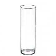 Vaso de vidro Cilindro 30 cm
