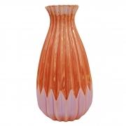 Vaso decorativo em cerâmica colorida 16,5 cm
